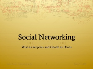 Slide01 - Social Networking
